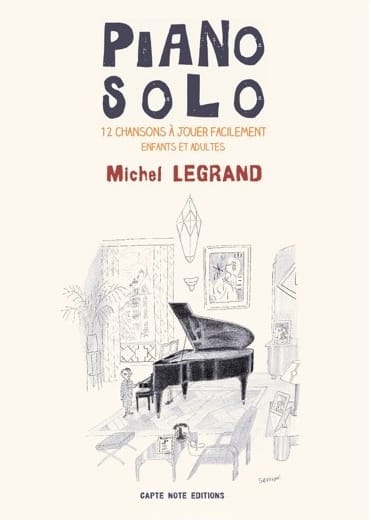 Michel Legrand - Piano Solo - Michel Legrand - Partition - di-arezzo.fr