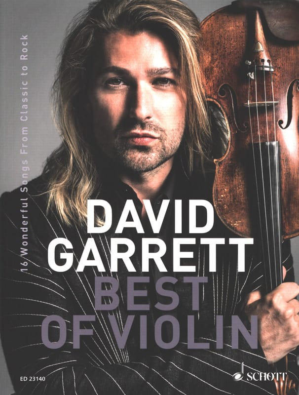 Best of Violin - David Garrett - Partition - Violon - laflutedepan.com