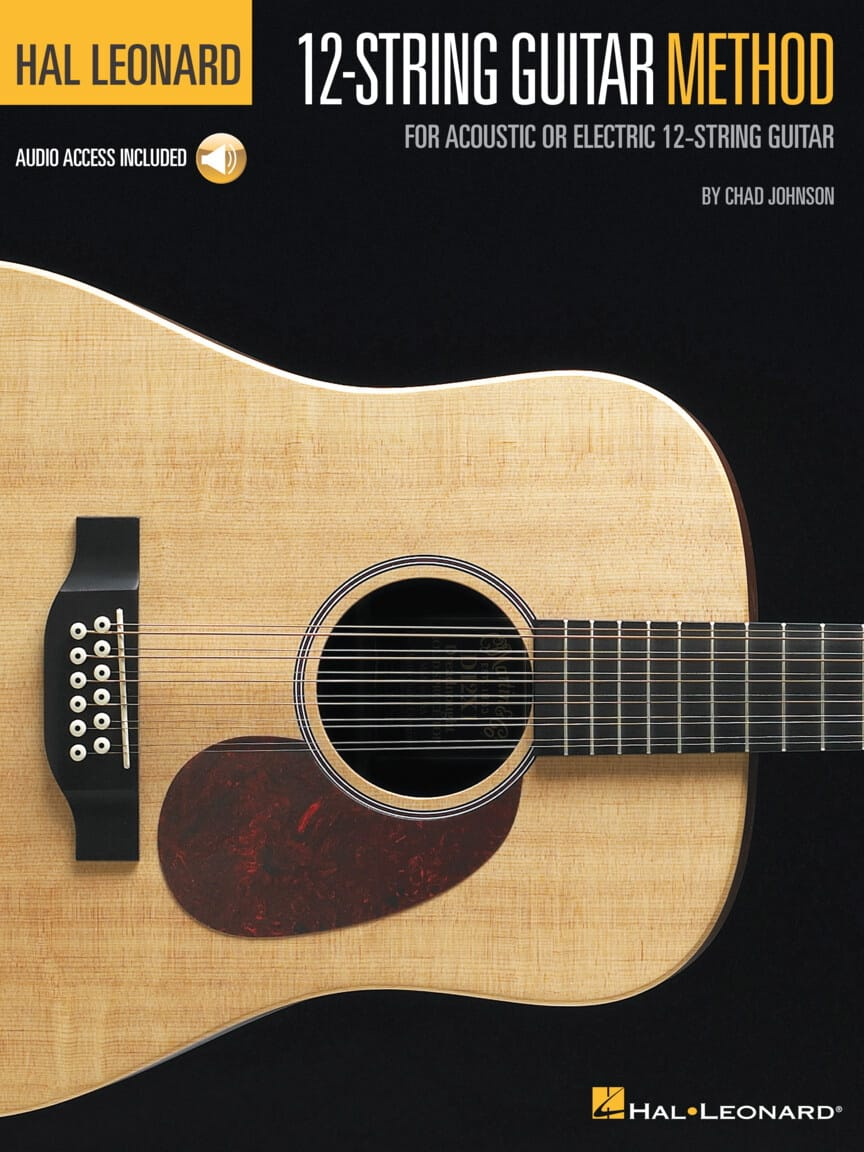 Hal Leonard 12-String Guitar Method - Chad Johnson - laflutedepan.com