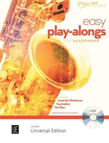 Easy Play-Alongs for saxophone and piano - laflutedepan.com