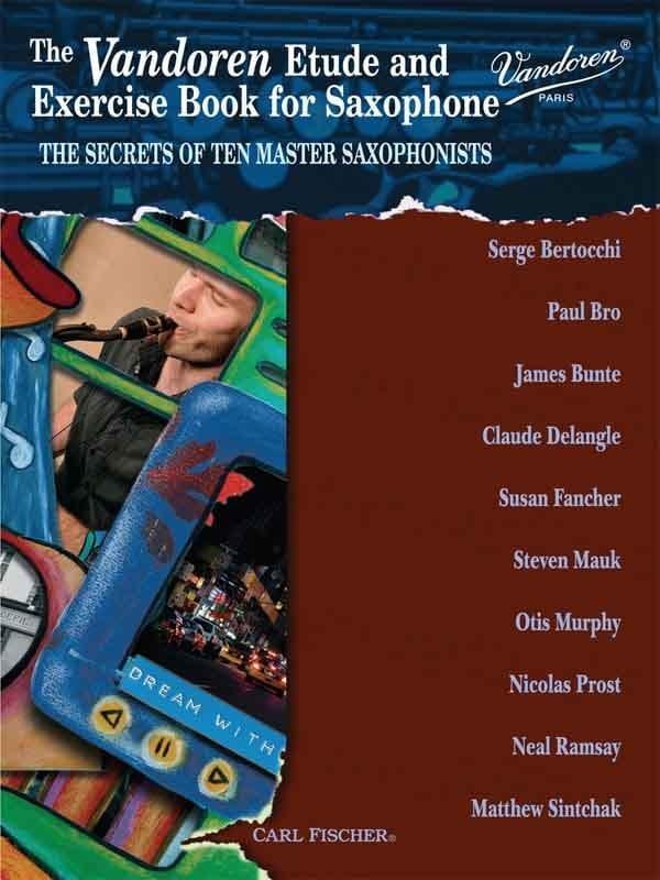 The Vandoren Etude and Exercise Book for Saxophone - laflutedepan.com