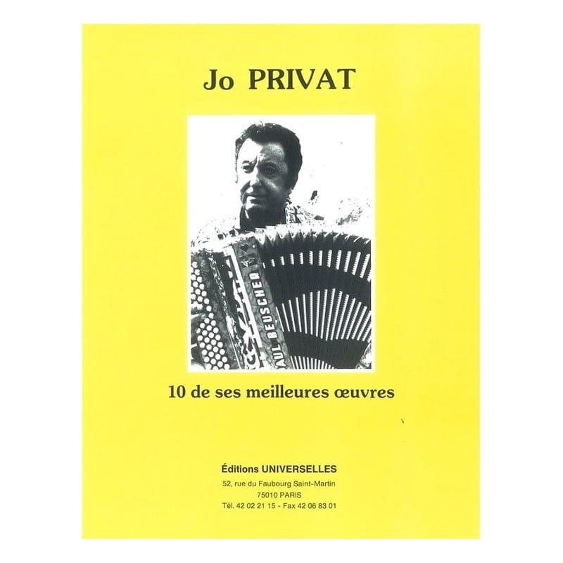 10 de ses meilleures oeuvres - Jo Privat - laflutedepan.com