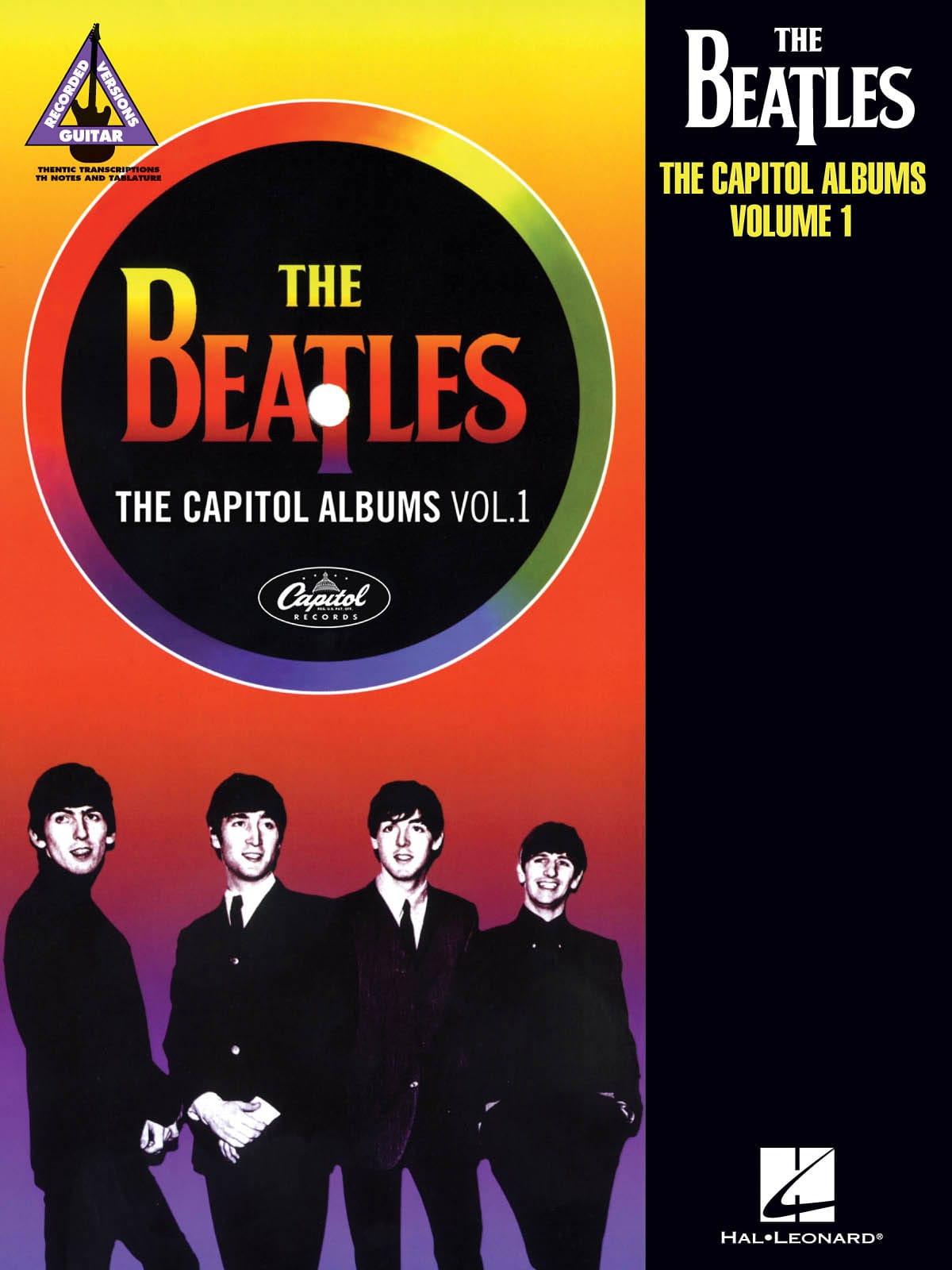 The Capitol Albums - Volume 1 - Beatles - Partition - laflutedepan.com