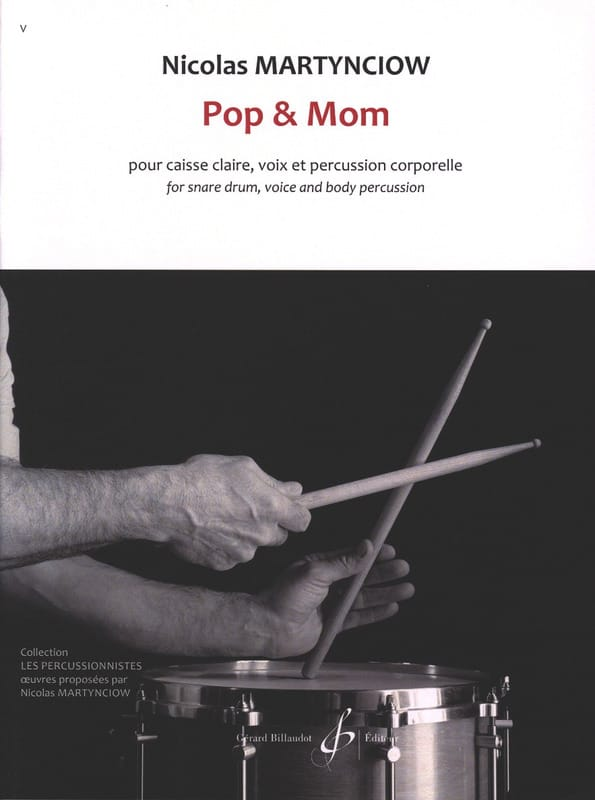Nicolas Martynciow - Pop - Mom - Partition - di-arezzo.com
