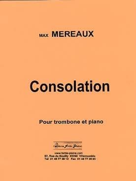 Consolation - Max Méreaux - Partition - Trombone - laflutedepan.com