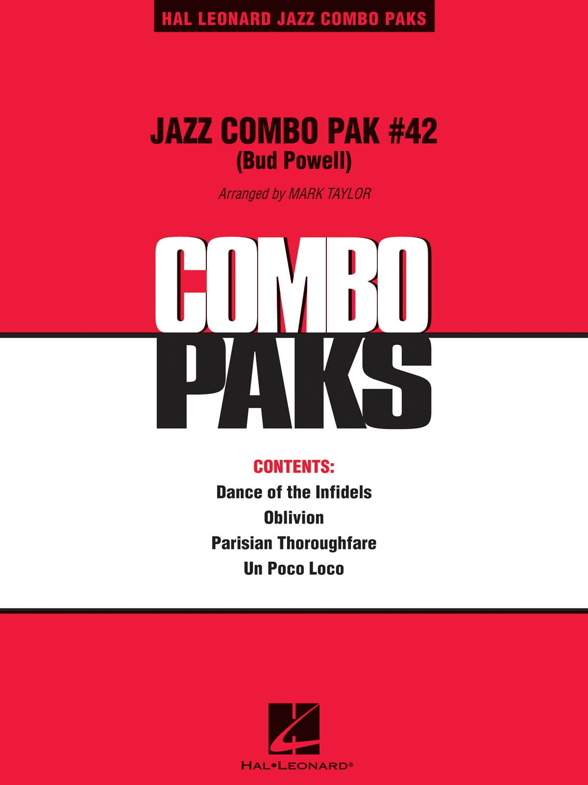 Jazz Combo Pak # 42 - Bud Powell - Partition - laflutedepan.com