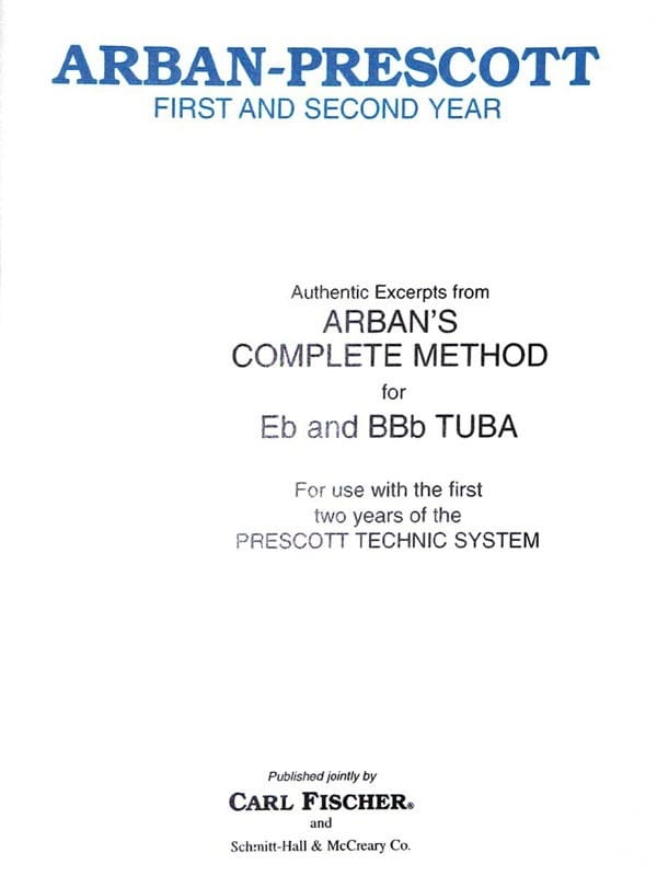Authentic Excerpts From Arban's Complete Method for Tuba - laflutedepan.com