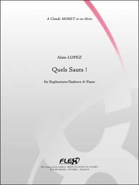 Quels sauts ! - Alain Lopez - Partition - Tuba - laflutedepan.com