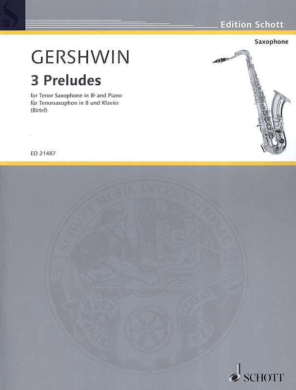George Gershwin - 3 Preludes - Partition - di-arezzo.co.uk