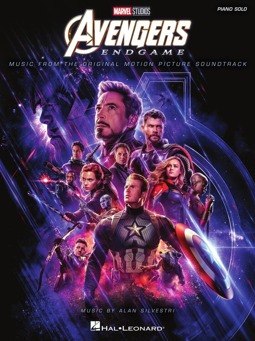 Marvel Studios - Avengers: Endgame - Movie Soundtrack - Partition - di-arezzo.co.uk