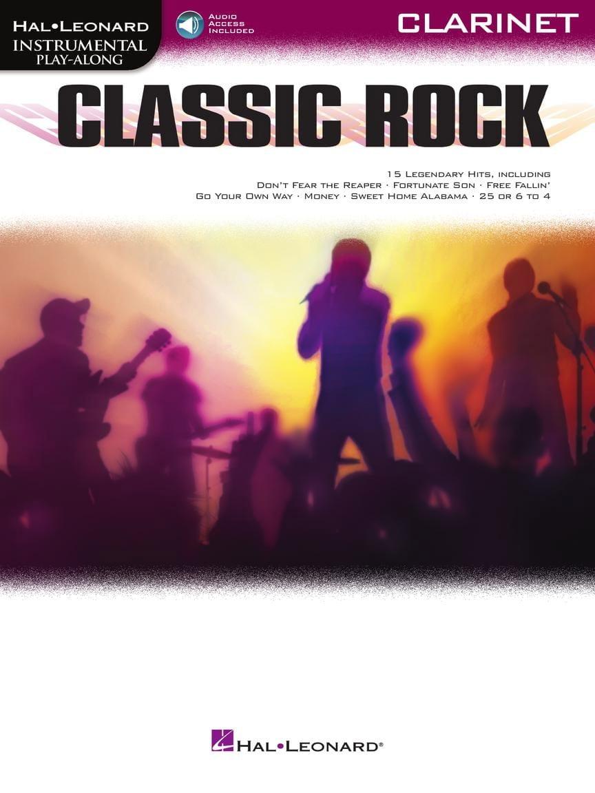 Classic Rock - Partition - Clarinette - laflutedepan.com