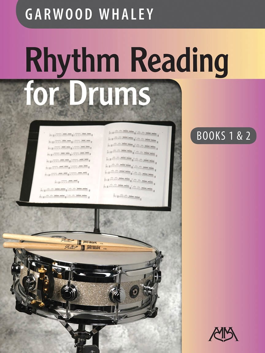 Garwood Whaley - Rhythm Reading for Drums - Books 1 - 2 - Partition - di-arezzo.co.uk