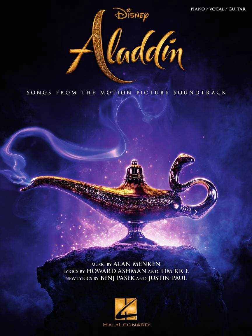 DISNEY - Aladdin - Music of the 2019 Film - Partition - di-arezzo.com