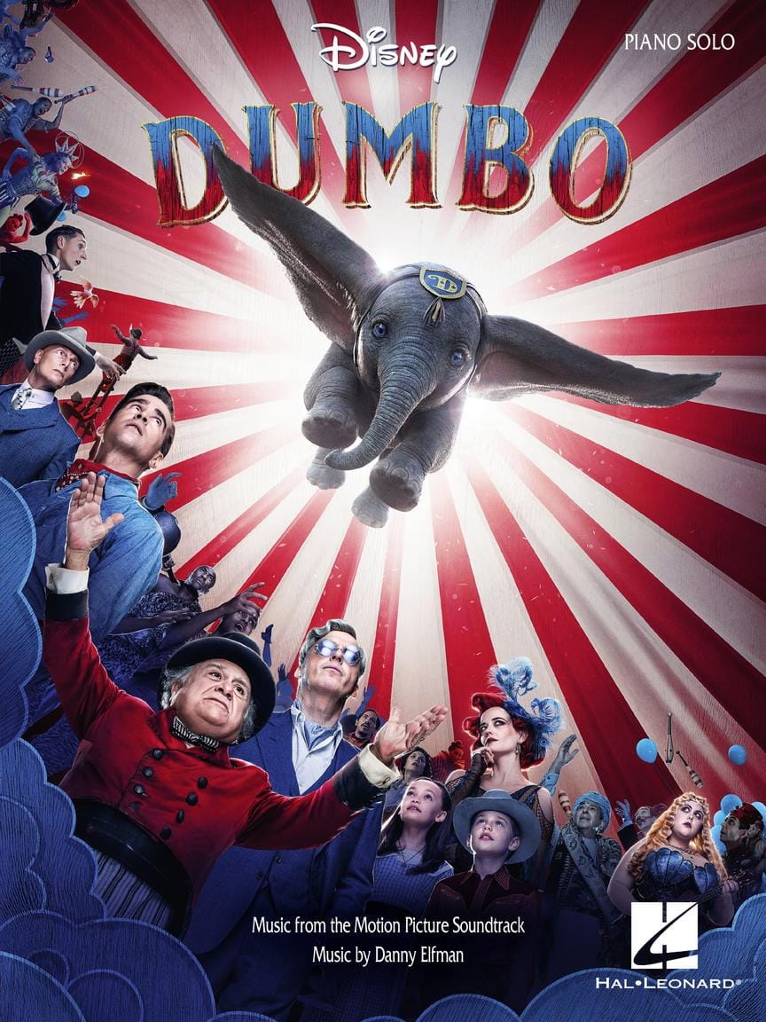 Danny Elfman - Dumbo - Music of the 2019 Film - Partition - di-arezzo.co.uk