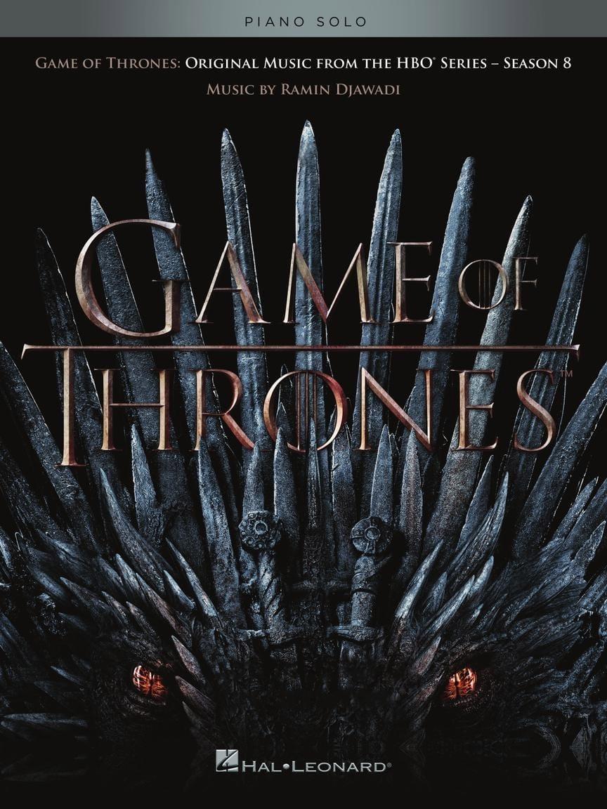 - Game of Thrones, Season 8 - Soundtracks of the TV series - Partition - di-arezzo.com