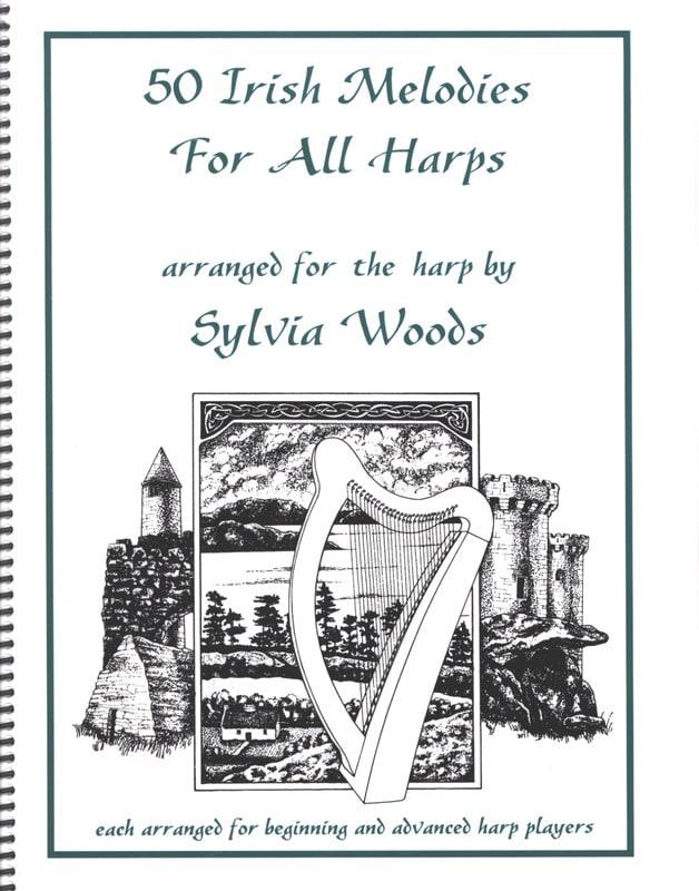 50 Irish Melodies for All Harps - Partition - laflutedepan.com