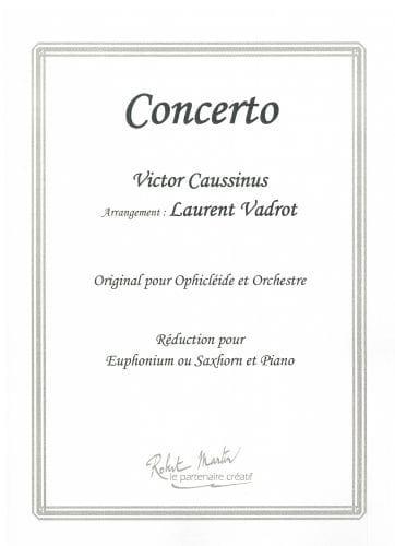 Concerto - Victor Caussinus - Partition - Tuba - laflutedepan.com