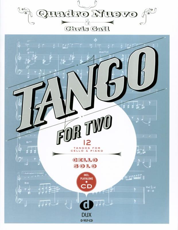 Tango For Two - Violoncelle - Partition - laflutedepan.com