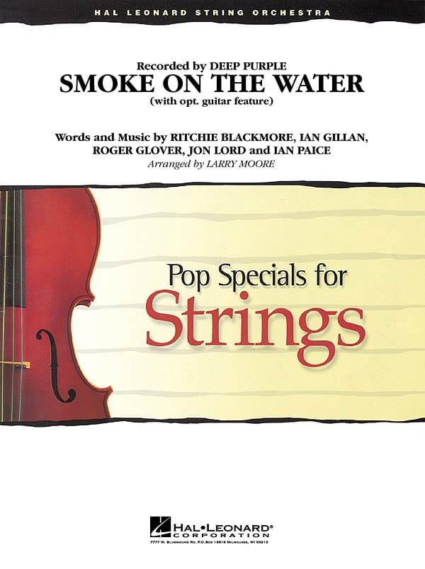 Smoke on the Water - Pop specials for strings - laflutedepan.com