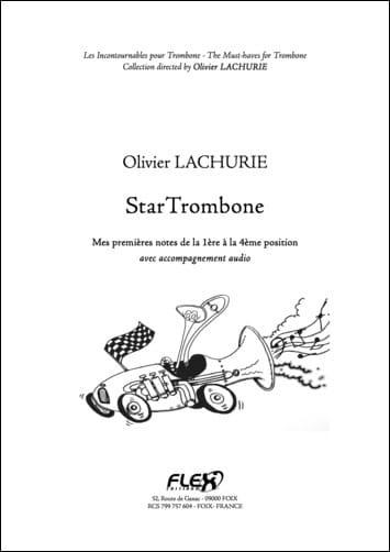 Olivier Lachurie - StarTrombone - Partition - di-arezzo.co.uk