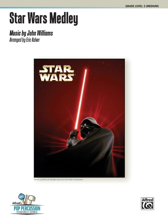 Star Wars Medley - John Williams - Partition - laflutedepan.com