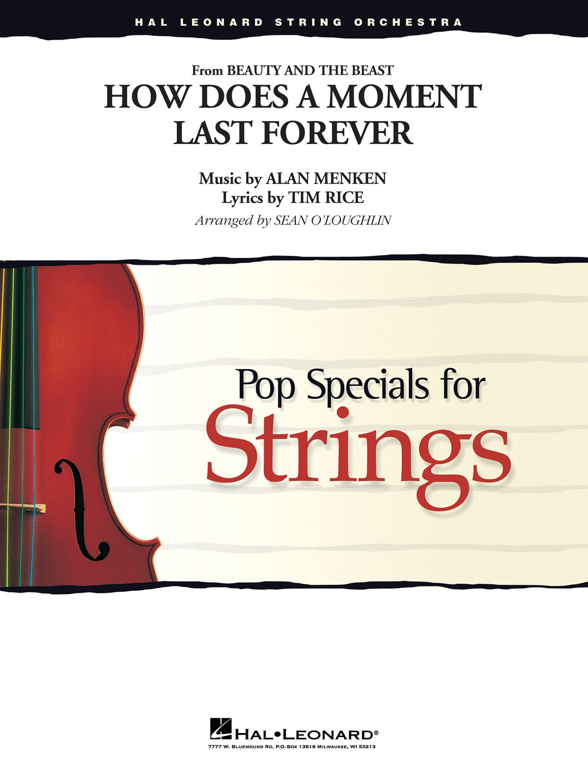 How Does a Moment Last Forever (Beauty and the Beast) - Pop Specials for Strings - laflutedepan.com