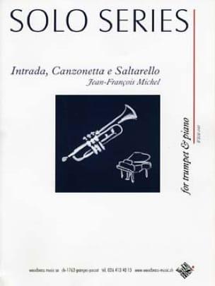 Jean-François Michel - Intrada, Canzonetta e Saltarello - Partition - di-arezzo.com