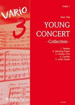 Young Concert Collection - Kees Vlak - Partition - laflutedepan.com