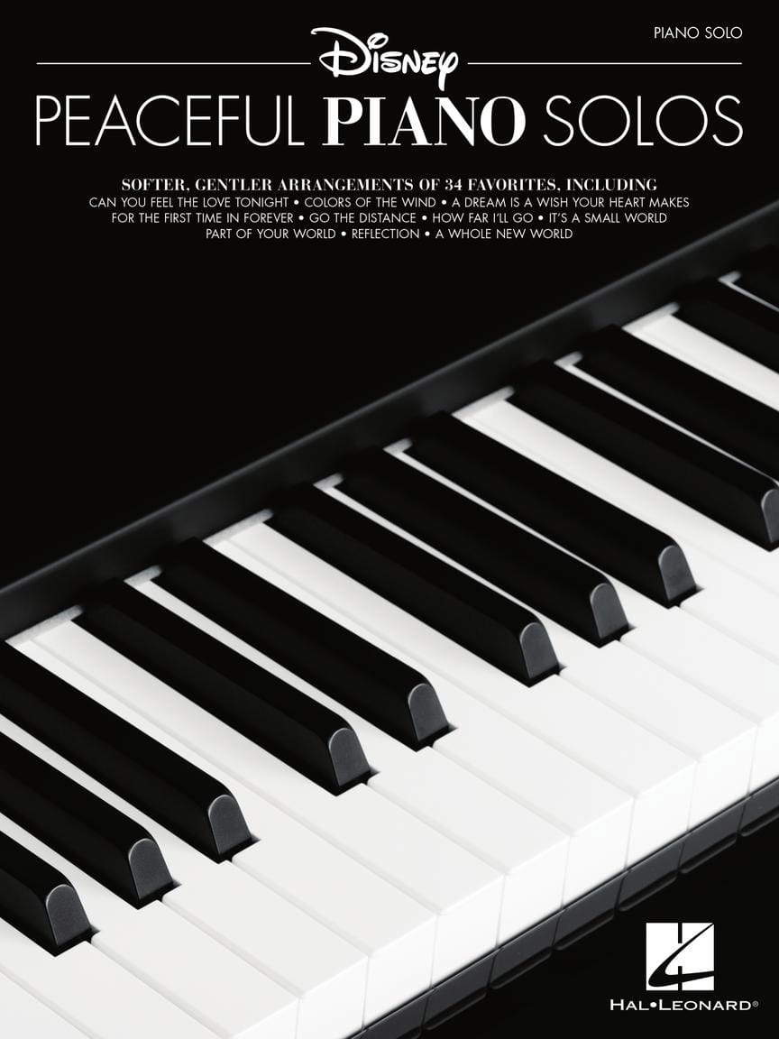 DISNEY - Disney Peaceful Piano Solos - Partition - di-arezzo.fr