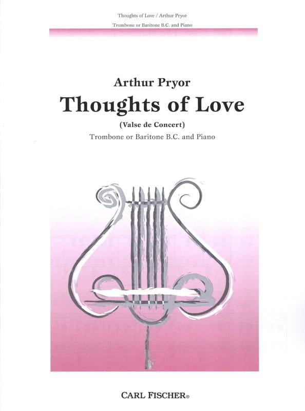 Thoughts Of Love - Arthur Pryor - Partition - laflutedepan.com