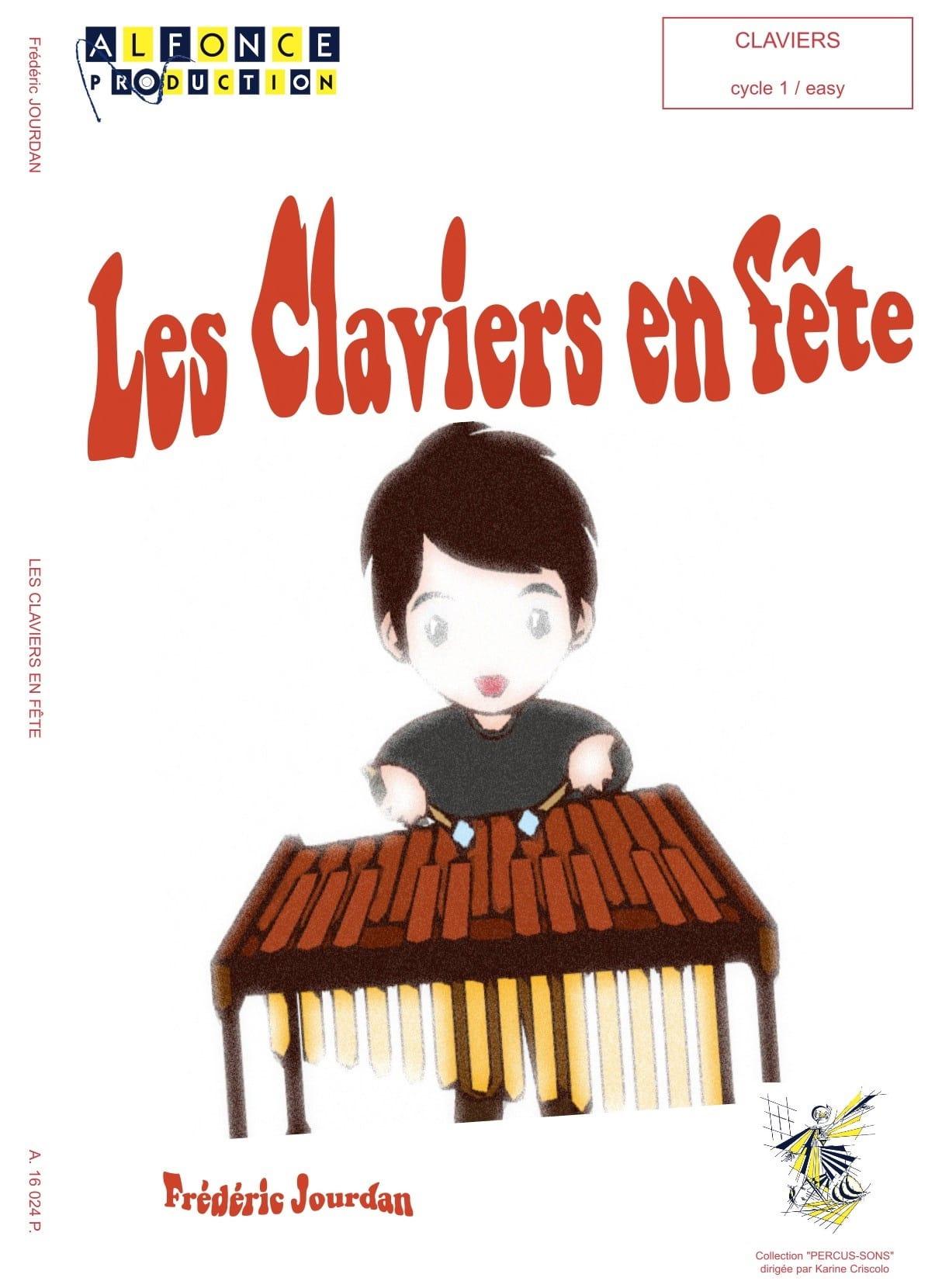 Les Claviers en Fête - Frédéric Jourdan - Partition - laflutedepan.com