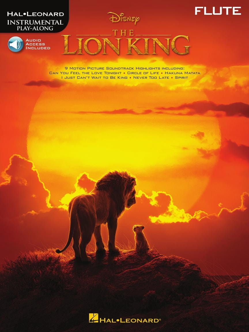DISNEY - The Lion King - Film Music for Flute - Partition - di-arezzo.co.uk