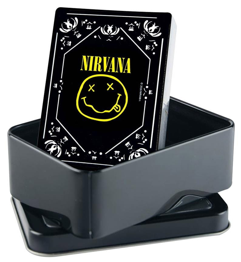 Jeu Musical - Nirvana Playing Cards - Smiley Logo - Accessoire - di-arezzo.com