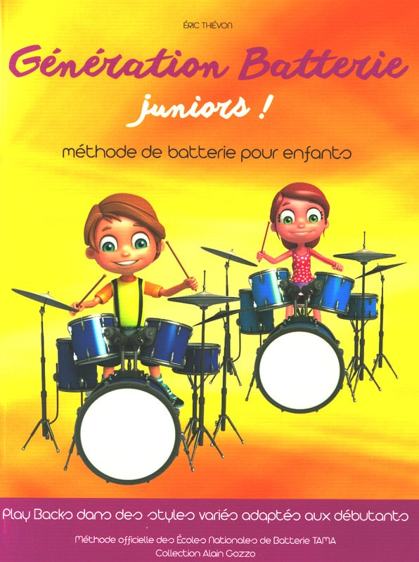 Génération Batterie Juniors! - Eric Thiévon - laflutedepan.com