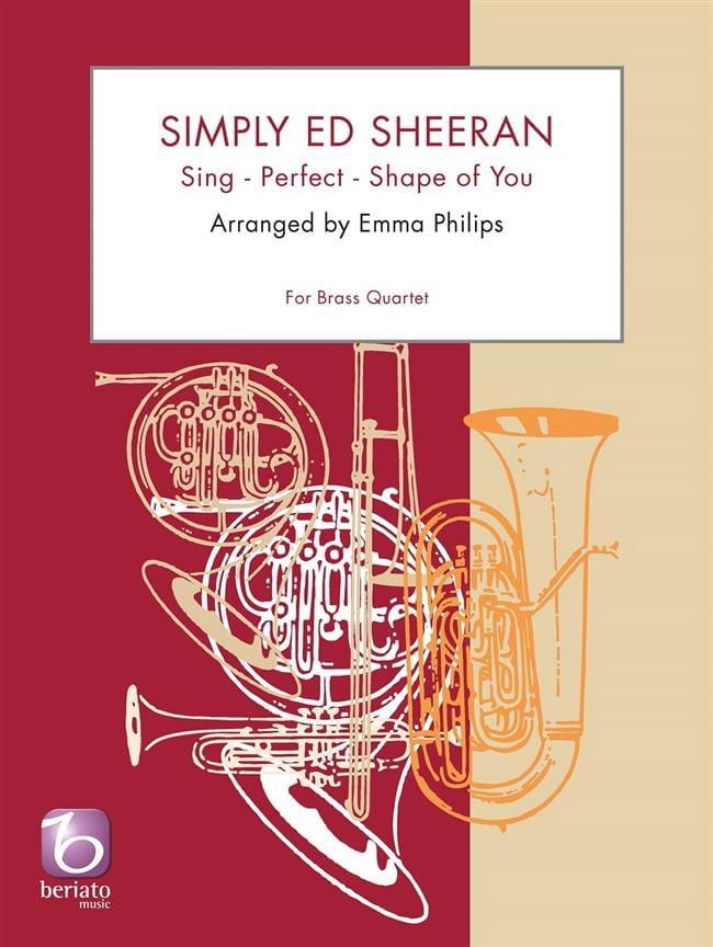 Simply Ed Sheeran - Quatuor de Cuivres - Ed Sheeran - laflutedepan.com
