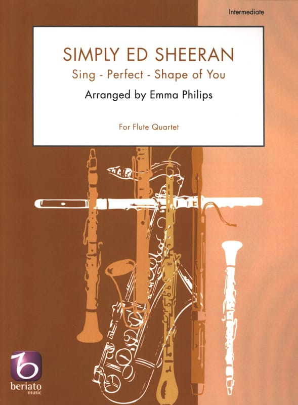 Simply Ed Sheeran - Quatuor de flûtes - Ed Sheeran - laflutedepan.com