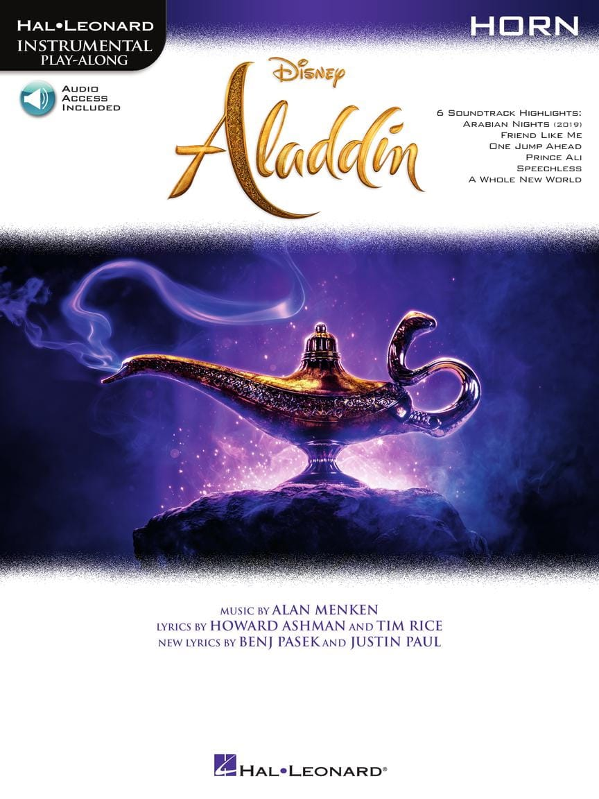 DISNEY - Aladdin - Movie Music - Partition - di-arezzo.co.uk
