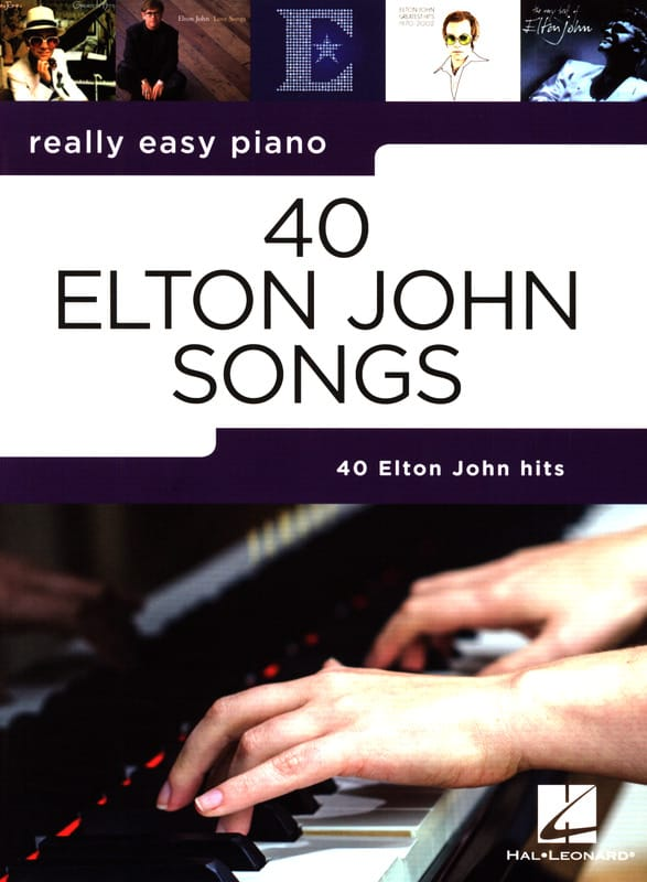 Really easy piano - 40 Elton John Songs - laflutedepan.com