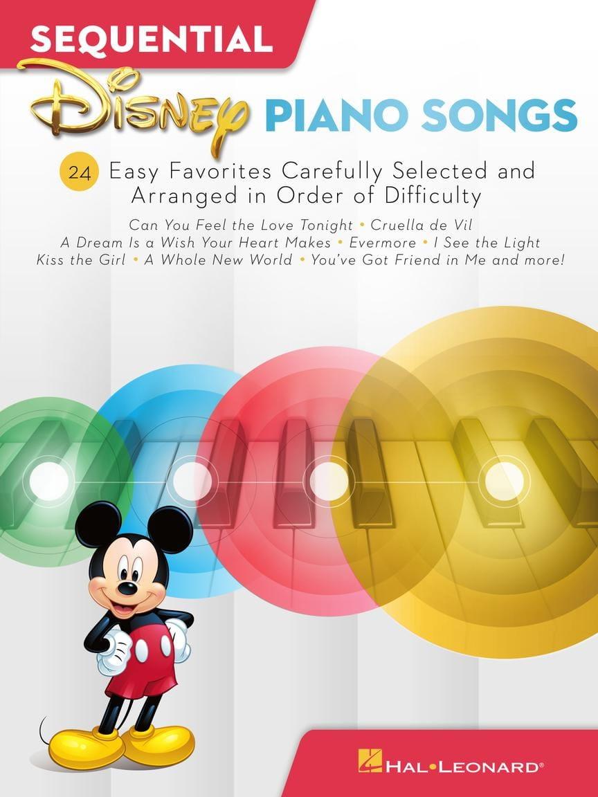 Sequential Disney Piano Songs - Easy Piano - DISNEY - laflutedepan.com