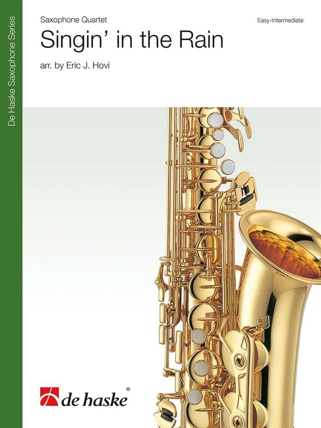 Singin' in the Rain - Quatuor de Saxophones - laflutedepan.com