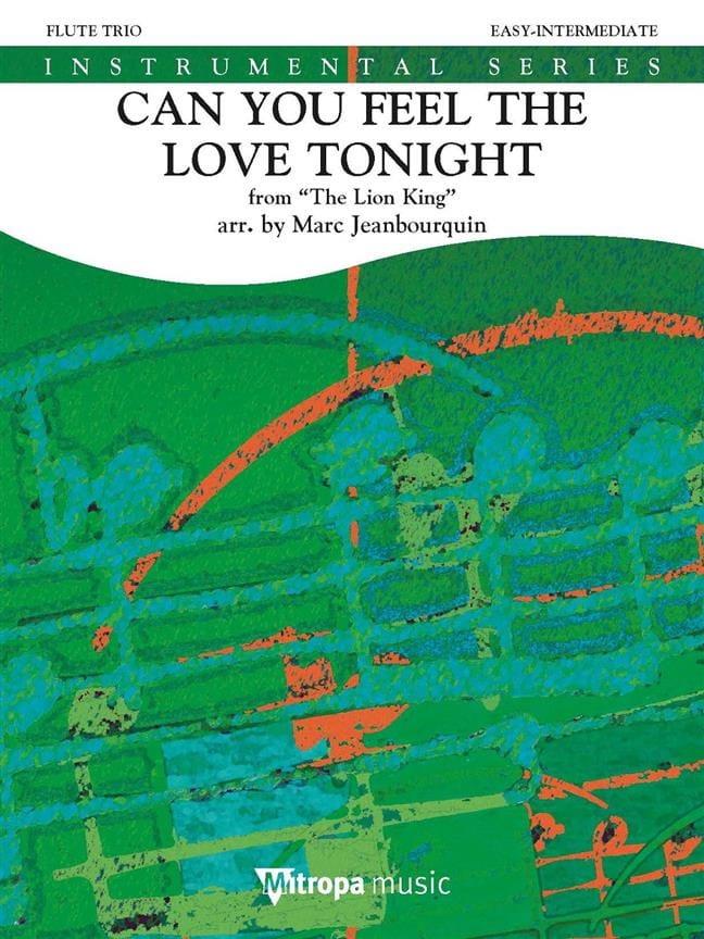 Can You Feel the Love Tonight, The Lion King - Quatuor de Flutes - laflutedepan.com