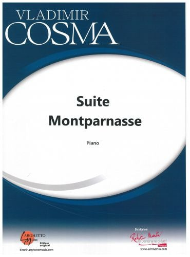 Vladimir Cosma - Montaparnasse Suite - Partition - di-arezzo.co.uk