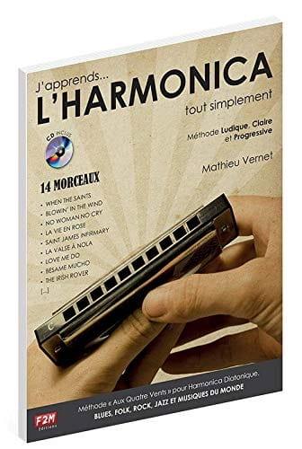 Mathieu Vernet - Estoy aprendiendo ... HARMONICA simplemente - Partition - di-arezzo.es