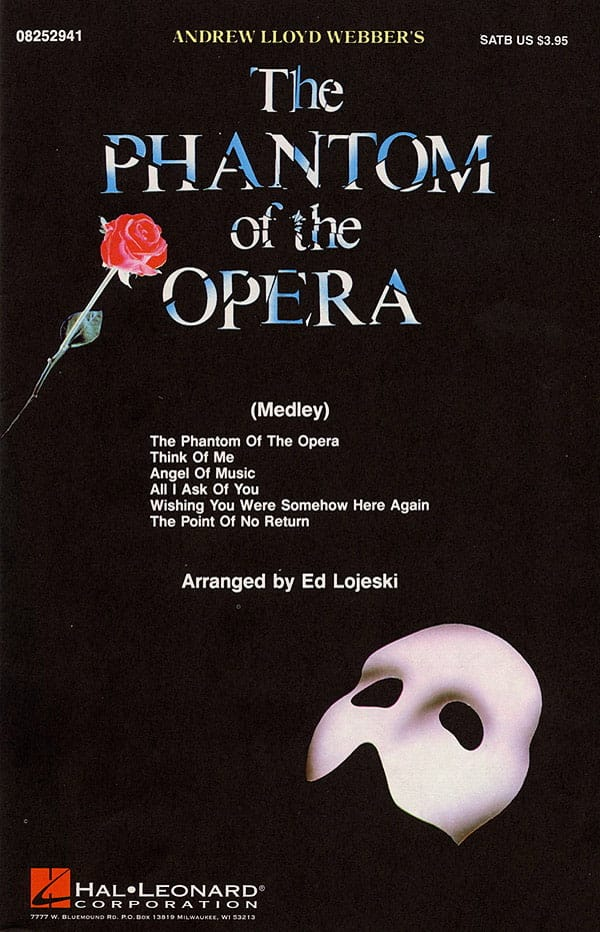 Andrew Lloyd Webber - The Phantom of the Opera - Medley - Partition - di-arezzo.co.uk