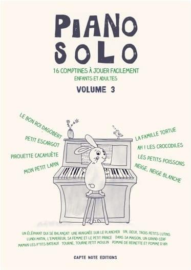- Piano Solo Volume 3 - 16 Rhymes - Partition - di-arezzo.com