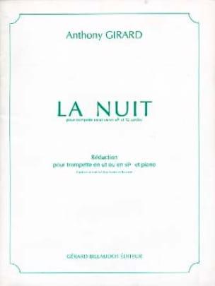 La Nuit - Anthony Girard - Partition - Trompette - laflutedepan.com