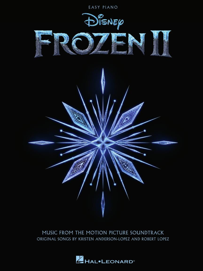 DISNEY - Frozen 2 Film Soundtrack - Einfaches Klavier - Partition - di-arezzo.de