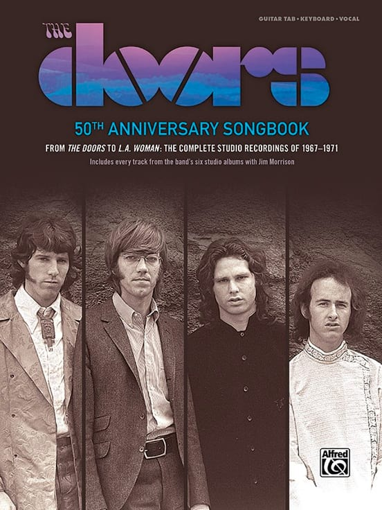the Doors - The Doors: 50th Anniversary Songbook - Partition - di-arezzo.co.uk