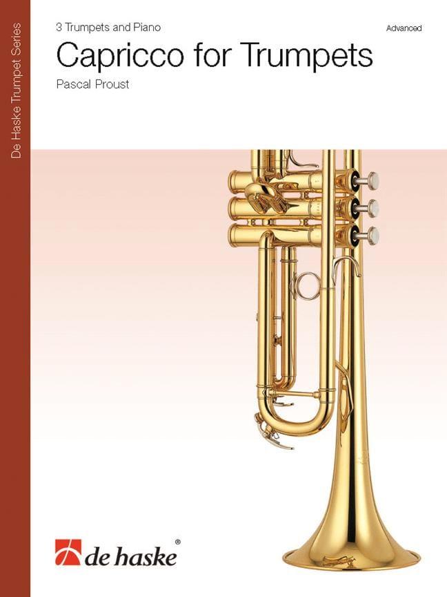 Pascal Proust - Capriccio para trompetas - Partition - di-arezzo.es