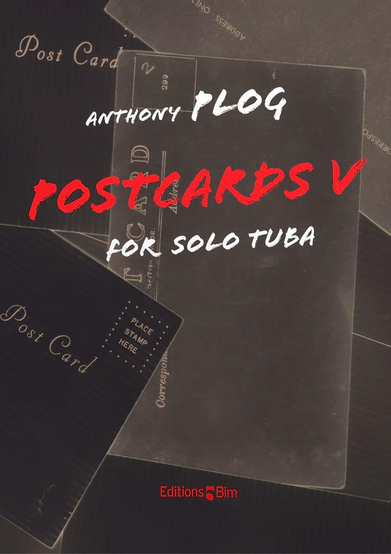 Postcards V - Anthony Plog - Partition - Tuba - laflutedepan.com